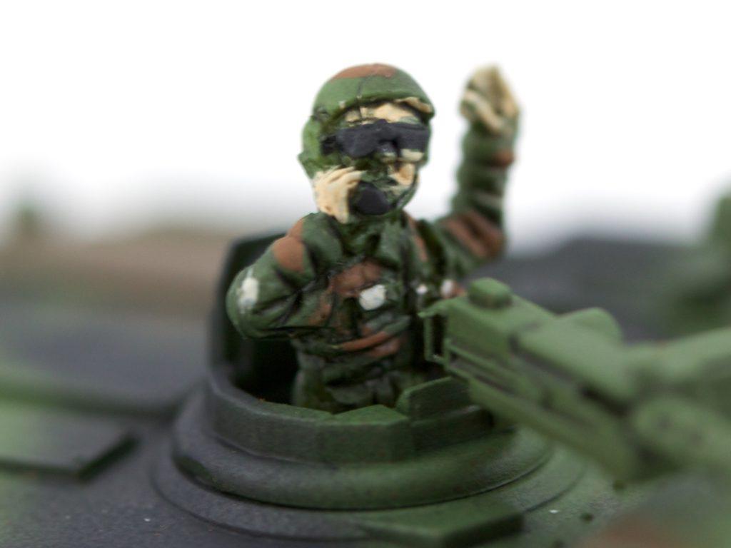 M1 Abrams (detail)