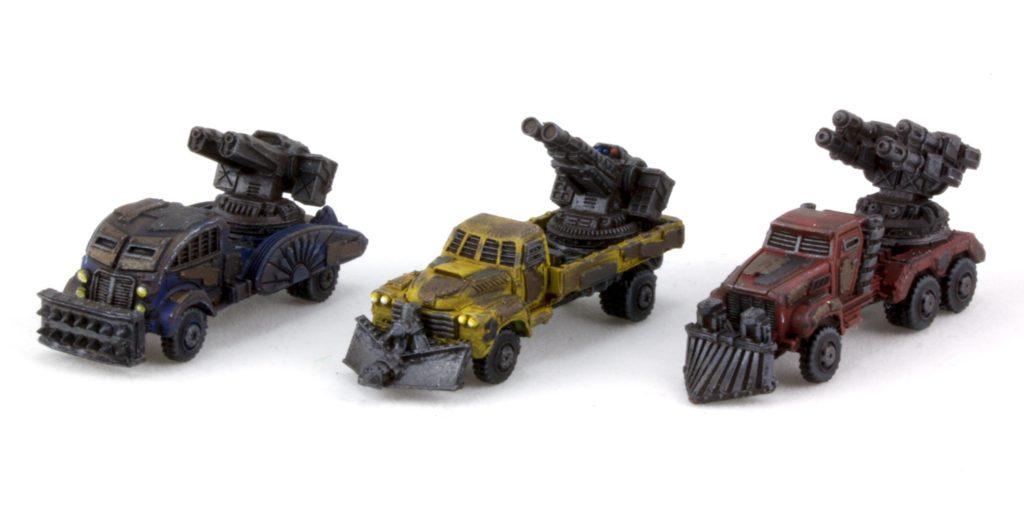 Gun Wagons