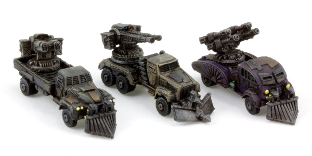 Gun Wagons (muted tones)
