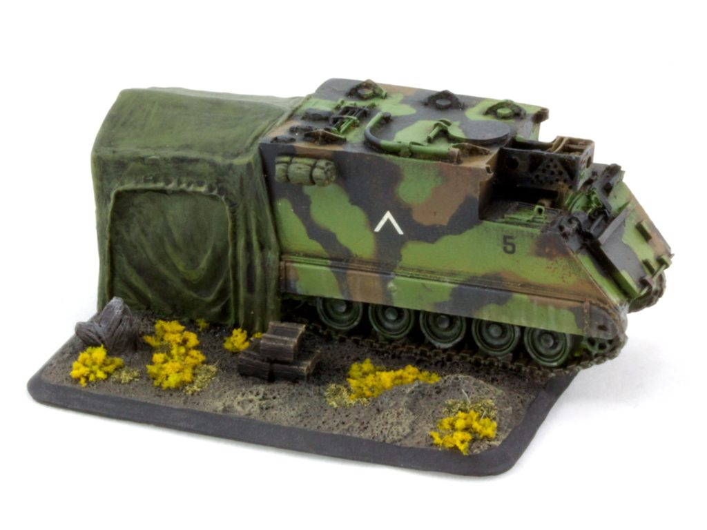 M577 command vehicle objective