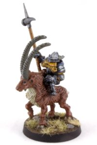 Battlesmith Gnome on Ibex
