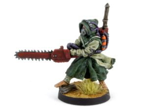 Chainsaw Monk from Gary Hunt Miniatures